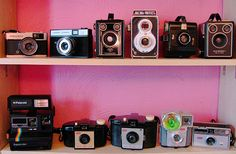 old cameras. I love all mine, I'm pretty sure i have all of these.