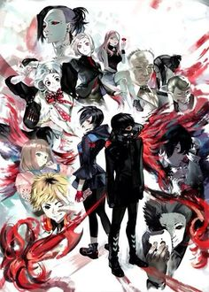 Tokyo Ghoul Characters
