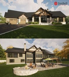 This new custom waterfront home will be built in the Calabogie area on a lovely treed lot with spectacular water views. The design style is Classic Craftsman with a hint of Modern Contemporary. The main floor great room will have a soaring cathedral ceiling and a wall of windows to take full advantage of the view. For more information about this project, follow the link to our portfolio. Commercial Architecture, Waterfront Homes, Window Wall, Great Rooms, Custom Homes, Cottages, Modern Contemporary, Craftsman, Architecture Design