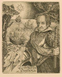 Art-exlibris.net - ex libris di Luigi Casalino per Vittorio Laura
