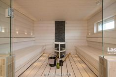 4 Omatalo Uniikki - Sauna Jyväskylän Asuntomessut Spa Night, Spa Rooms, Dream Rooms, My Dream Home, Garage Doors, House Design, Bathroom, Outdoor Decor, Haku