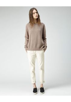Organic by John Patrick Slouchy Knit Pullover