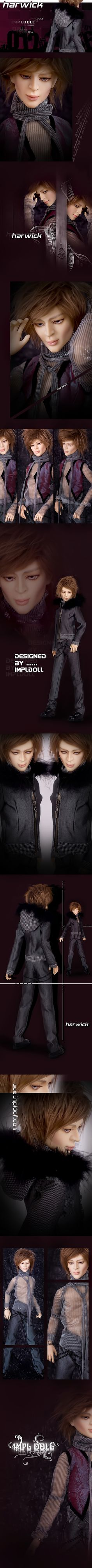 Harwick, 64cm Impldoll Boy - BJD Dolls, Accessories - Alice's Collections
