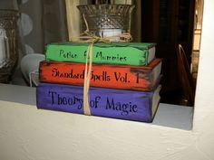 Go Ahead & Craft: Old Books and Candy Corn
