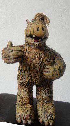 escultura Alf