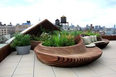 Wonderful Rooftop Garden Design For Home That Enchanting - SnapShot Magazine # rooftop Gardening Wonderful Rooftop Garden Design For Home That Enchanting Terrace Garden Design, Rooftop Design, Rooftop Decor, Terrace Decor, Terrasse Design, Diy Pergola, Pergola Kits, Pergola Ideas, Garden Furniture