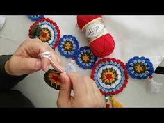 Crochet Mat, Crochet Bows, Cute Crochet, Irish Crochet, Crochet Doilies, Crochet Flowers, Mandala Motif, Crochet Furniture, Crochet Table Runner