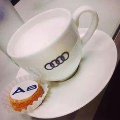 Audi coffee♡