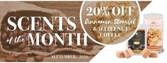 September's Scent of the Month! Shop www.jewelryincandles.com/store/blingscents
