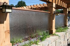 Beautiful Outdoor Water Walls for a beautiful outdoor view -  http://www.mbabayarea.com/beautiful-outdoor-water-walls-for-a-beautiful-outdoor-view/  http://www.mbabayarea.com/wp-content/uploads/2014/07/wonderful-outdoor-water-walls-.jpg