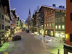 kitzbuhel, austria ... great small town, beautiful skiing