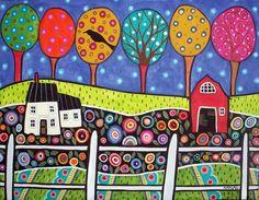 Folk Art Farm by karlagerard, via Flickr