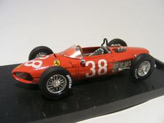 Ferrari 156 F1 1:43 Brumm R124 - Speelgoedenverzamelshop.nl