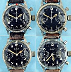 Four Rare Navigator Watches Issued to Luftwaffe Airmen To Go Under the Gavel - http://www.warhistoryonline.com/war-articles/four-rare-navigator-watches-issued-luftwaffe-airmen-go-gavel.html