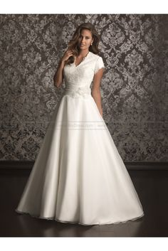 Allure Modest Wedding Dresses - Style M494