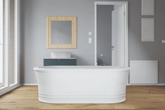 The victoria bathtub is a timeless centrepiece to your bathroom. This bathtub has a luxurious charm that proves that style abides throughout the ages. Village House Design, Village Houses, New Bathroom Ideas, Beautiful Homes, House Beautiful, Product Offering, Basin, Make It Simple, Contemporary