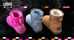 Designed by combining Ugg and technology Classic Ugg Boots, Ugg Classic, Uggs, Baby Shoes, Technology, Design, Fashion, Tech, Moda