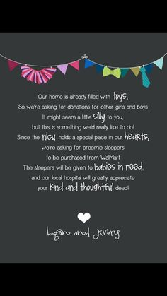 Preemies First Birthday Idea Nicu Donation Love The Of Giving Back To
