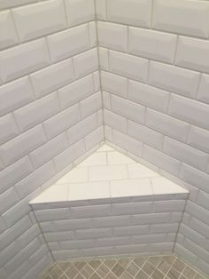 Tile grout repair is often necessary in shower corners that cracked from incorrect installation. But more grout is not the answer. Bathroom Caulk, Zen Bathroom, Bathroom Floor Tiles, Wall Tile, Master Bathroom, Tile Floor, Bathrooms, Corner Shower Tile, Grout Repair