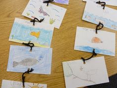 Food chain, draw on index cards, place in order, attach to one another