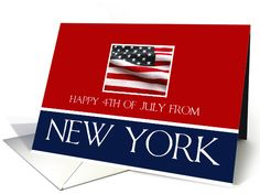 Happy 4th of July from New York card  Order now and pick up at your local Target or Bartell Drugs store. One hour service!
