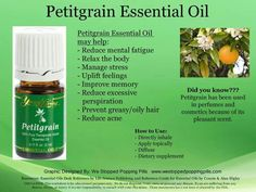 Petitgrain Essential Oil can help reduce excessive perspiration. Yl Oils, Doterra Oils, Natural Essential Oils, Natural Oils, Natural Health, Young Living Oils, Young Living Essential Oils, Herbal Remedies, Natural Remedies