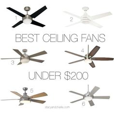 Superior Stacy + Charlie: Best Ceiling Fans Under $200 Living Room Fans, Living Room  Ceiling