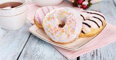 Recette de Donuts comme en Amérique cuits au four. Facile et rapide à réaliser, goûteuse et diététique. Ingrédients, préparation et recettes associées.
