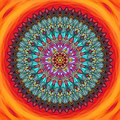 Mandala Probuď v sobě lásku