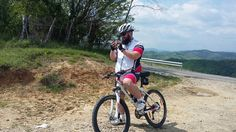 Checking the map. #cycling #orientation Pacureti-Aricesti cross-country cycling Prahova, Romania.