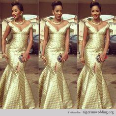 Nigerian Wedding ore iyawo aso ebi styles ~African Prints, African women dresses, African fashion styles, african clothing