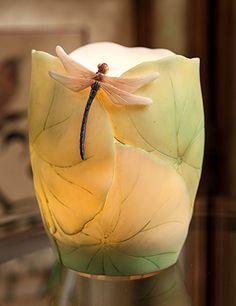 Dragonfly & Lotus Leaf Night Lamp