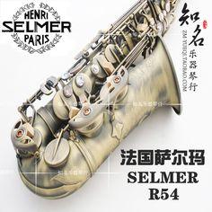 selmer 54 alto saxophone e musical instrument antique copper matt wire drawing