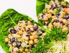 #MeatlessMonday - Cranberry Chickpea Salad: Sign up for weekly recipes: https://secure.humanesociety.org/site/SPageServer?pagename=meatlessmondaysignup