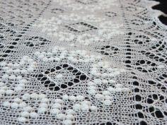 Artist Liina Langi: Haapsalu shawl, lace and yarn