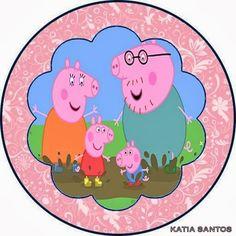 Fazendo a Propria Festa: KIT PERSONALIZADOS PEPPA PIG