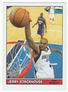 Jerry Stackhouse # 35 - 2005-06 Topps Baz Basketball