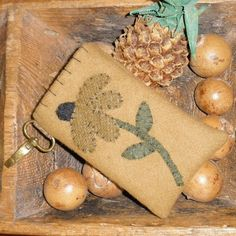 Primitive Wool Appliqued Camera IPod by TeresasPrimTreasures, $16.00