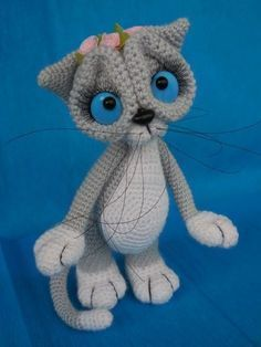 Discover recipes, home ideas, style inspiration and other ideas to try. Amigurumi Toys, Amigurumi Patterns, Crochet Patterns, Knitted Animals, Plush Animals, Pet Toys, Doll Toys, Sewing Toys, Stuffed Toys Patterns