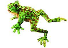 marionnette malicieuse 'grenouille léopard'