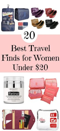 Lots of fun travel finds for less than $20.
