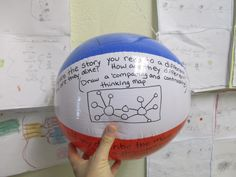 Thanks Davie ES! This Thinking Maps beach ball is tossed around the room and where the thumb lands is the type of Map and application that group creates.  Love the differentiation idea!