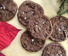 A holiday cookie to please! The #korokova #cookie is bursting with #butter #chocolate and #seasalt (perfect for a #gift this season!). #homemade #baking #love