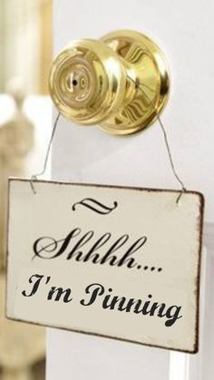 Shhhh... I'm Pinning .... please join me! NO PIN LIMITS!