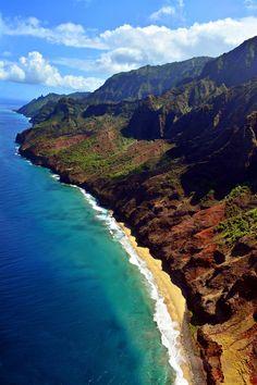 Na Pali Coast State Park, Kauai, Hawaii