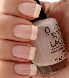 Perfect Pink & White French~ OPI Bubble Bath & OPI Alpine Snow Nail Polish Set