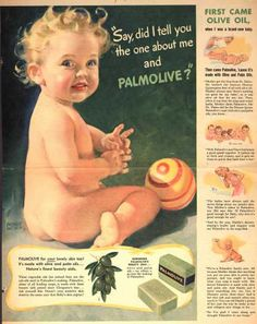 """Palmolive Company's Palmolive Soap – """"Say, did I tell you the one about me and Palmolive?"""" (1942)"""