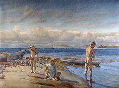 Fritz Syberg: Børnene på Fyns Hovede (1904-05).