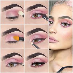 How to apply Natural Eye Makeup Tip Step By Step. How to apply Natural Eye Makeup Tip Step By Step. <br> Are you searching how to do eye makeup at home? If Yes, So here you can find out easy eye makeup tips step by step with pictures. Bright Eye Makeup, Simple Eye Makeup, Natural Eye Makeup, Blue Eye Makeup, Eyeshadow Makeup, Fish Makeup, Blusher Makeup, Eyebrow Makeup, Kylie Jenner Makeup Tutorial