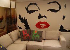 Leandro Selister - Adesivo de Parede – Marilyn Close - http://leandroselister.com.br/loja/adesivos-de-parede/adesivo-de-parede-marilyn-close/